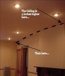 ceiling-warp